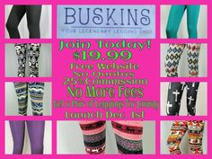 Leggings Lovers!! Get a FREE pair with enrollment fee of $19.99