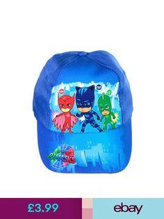 Boys  Accessories Pj Masks Official Licensed Boys Pjmasks Summer Baseball  Cap Hat One Size Blue e0e22faee3f2
