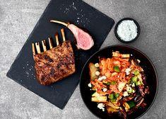 Grillattua karitsankaretta ja kaalisalaattia kimchillä - Rasilainen