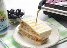 Sándwich de Pasta de Atún y Mayonesa Ligera Ybarra