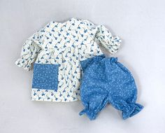Doll Dress & Bloomers: Toy Doll Outfit