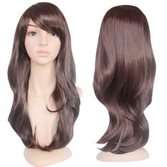EmaxDesign Wigs 28 Inch Cosplay Wig For Women With Wig Cap and Comb(Dark Brown) *** This is an Amazon Affiliate link. Learn more by visiting the image link.