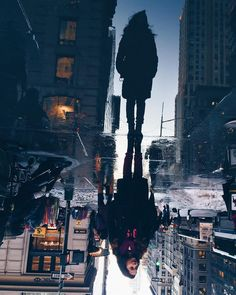 """Iffath S. Khan on Instagram: """"Upside down reflection photography pt.1  #iphonography #iphonephotography #upsidedown #reflection #newyork #newyork_instagram #instagram"""""""