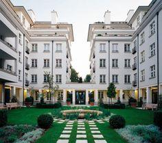 Мюнхенский район «Ленбах Гертен» бюро Hilmer & Sattler und Albrecht и Steidle Architekten.
