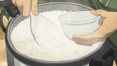 Boyfriend Cooking Quotes - - Keep Cooking Quotes - Cooking Videos Ideas - Cooking Photography Cartoon - Aesthetic Gif, Aesthetic Food, Anime Gifs, Anime Art, Cooking Videos, Food Videos, Ghibli, Anime Bento, Cooking Quotes