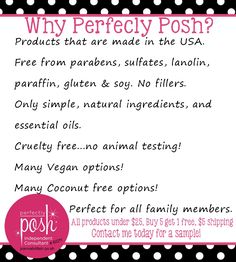 What is all this Posh about? I'm sharing our love of Perfectly Posh! We love that they offer coconut free soaps, lotions, etc. And we think you'll love Perfectly Posh too! | EverydayMadefresh.com