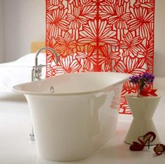 For ultimate luxury, create a bathroom area in your bedroom.