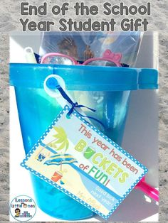 15+ ideas for end of the school year student gifts and gift tags. Send students off for the summer with memorable tokens of appreciation using inexpensive trinkets. https://lessons4littleones.com/2016/04/13/end-of-the-year-student-gifts-gift-tags/