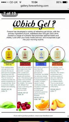 Aloe Drinking Gels www.aloeluxury.com/store