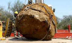 30 TONNE meteorite is discovered in Argentina