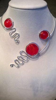 Hey, I found this really awesome Etsy listing at https://www.etsy.com/listing/261832099/aluminium-wire-jewelry-modern-jewelry