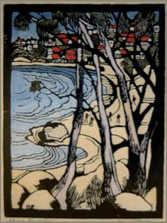 Margaret Preston - Edward's Beach, Balmoral