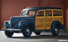 1940 Ford Standard Station Wagon