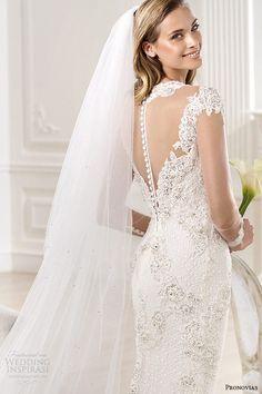 #Wedding dress from Atelier Pronovias 2014 Bridal Collection http://weddinginspirasi.com/2013/12/06/atelier-pronovias-2014-wedding-dresses/