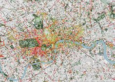 Beautiful maps of what our cities actually smell like - The Washington Post