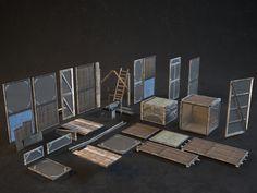 ArtStation - 3d environment art, Kirill Sibiriakov