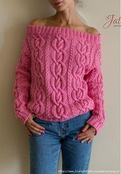 Пуловер спицами(узор)