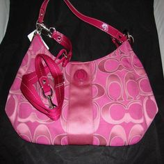 Coach Convertible Authentic Model f19442 Color fuchsia. Starting at $1 on Tophatter.com!