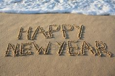 Happy New Year images with beach Happy New Year 2014, New Years 2016, New Years Eve, Year 2016, New Year 2017 Images, Happy New Year Images, Quotes About New Year, Year Quotes, Christmas Events