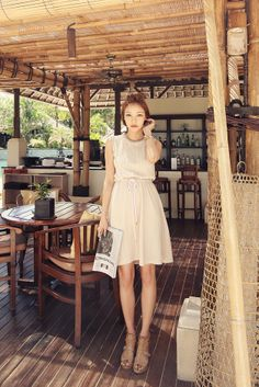 Romantic Simple Knit Dress
