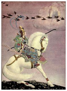 Aladdin and his wonderful lamp, T. Blakely Mackenzie