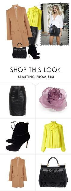 """""""Untitled #1273"""" by fashionrushs ❤ liked on Polyvore featuring Daum, Gianvito Rossi, Somerset by Alice Temperley, STELLA McCARTNEY and Dolce&Gabbana"""