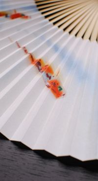 Japanese paper fan