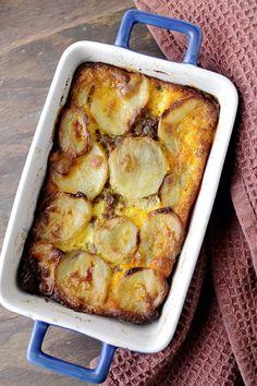 Meat and Potato Gratin {traditional Macedonian Moussaka} from @Kate Petrovska | Diethood
