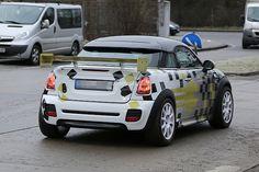 MINI Coupe Electric Race Car Spotted - 2015 Mini Cooper Forum