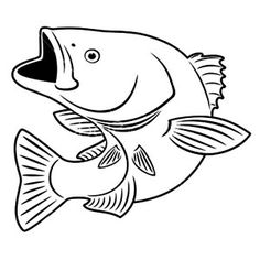 Free Printable Fish Coloring Pages For Kids | Pinterest | Fish and ...