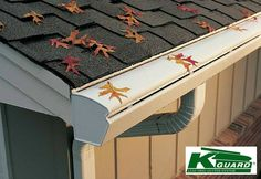 K-Guard leaf-free gutters in Columbus, Ohio. Never clear out or unclog a gutter again!