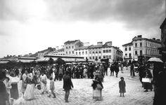 Plac Gosiewskiego - Lwów na starych zdjęciach