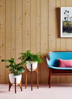 Retro Print Revival · Rocket Planters — The Design Files | Australia's most popular design blog.