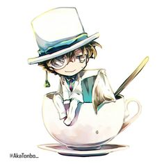pixiv is an online artist community where members can browse and submit works, join official contests, and collaborate on works with other members. Magic Kaito, Anime Chibi, Anime Manga, Anime Guys, Detective, Tsubaki Chou Lonely Planet, Kaito Kuroba, Gosho Aoyama, Kaito Kid