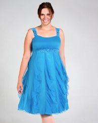 plus size prom dresses blue
