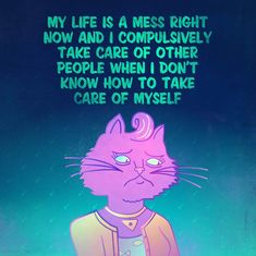 Tagged with art, fanart, quotes, digital art, bojack horseman; Finished my sad Bojack quote series! Disney Channel, Cartoon Network, Great Works Of Art, Bojack Horseman, Comic, The Revenant, Tv Quotes, Deep Quotes, Take Care Of Me