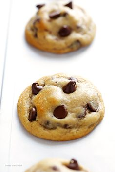 My All-Time FAVORITE Chocolate Chip Cookie Recipe -- soft, chewy, and perfectly delicious! | gimmesomeoven.com
