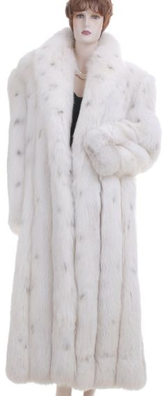 Fashionable Vintage Spotted CAT Mink Fur Coat Size by FURBUYSPLUS ...