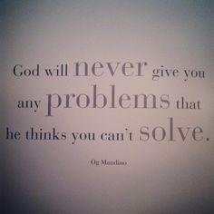 Faith is all you need :)