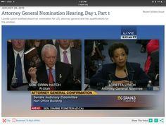 Senator Orrin Hatch to Loretta Lynch: Read LICENSED TO LIE: Exposing Corruption in the #DOJ