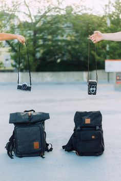 Brevitē | The Rolltop and The Rucksack camera backpack