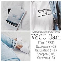 VSCO CAM - Ultimate guide to editing your insta pics! Photography Filters, Vsco Photography, Photography Editing, Organizar Feed Instagram, Fotografia Vsco, Vsco Hacks, Photo Hacks, Vsco Feed, Fotografia Tutorial