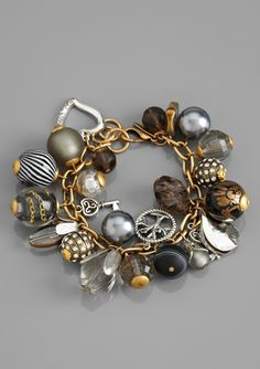 LENORA DAME Charm Bracelet. Have a green one. love