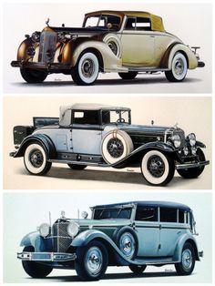 Vintage cars painting