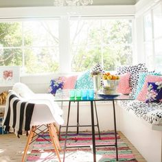 Our dream breakfast nook!