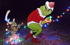 Hey, I found this really awesome Etsy listing at https://www.etsy.com/listing/254279762/the-grinch-and-max-stealing-christmas