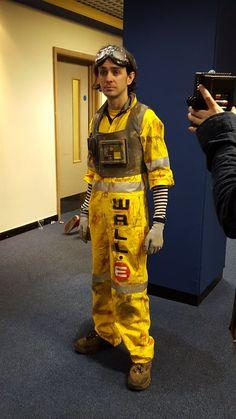Wall-E cosplay by retroenzo