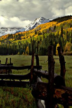 Autumn, San Juan Mountains, Colorado photo via unesssary