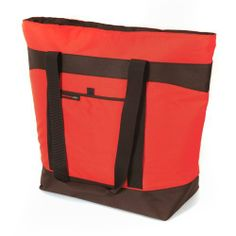 Rachael Ray Jumbo ChillOut Thermal Tote, Red by California Innovations. $24.99. Superfoam insulation plus therma-flect radiant barrier. Handle converts so that tote can be carried horizontally or vertically. Lightweight for comfort. Ultra safe interior lining is leak proof, easy clean, microban antimicrobial protection. Exterior pocket. Bring the party wherever you go with the Jumbo Chill-Out Tote. It has room for plenty of food and drinks and the handle actually...