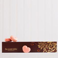 Heart-Shaped Amore Macarons